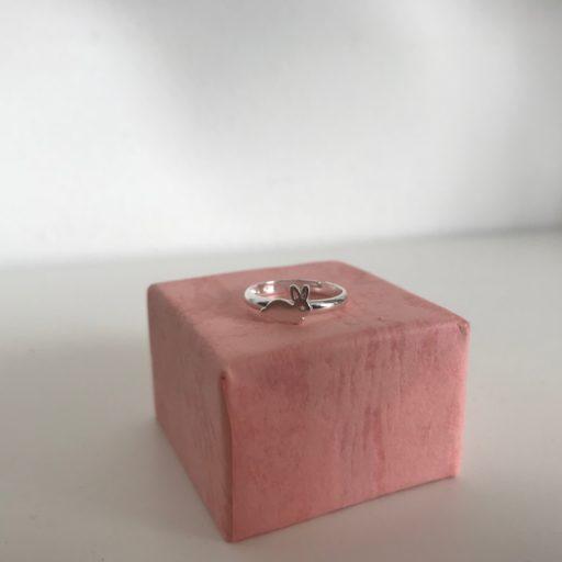 kaya sieraden zilveren kinderringetje