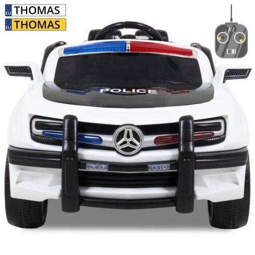 Elektrische kinderauto politie