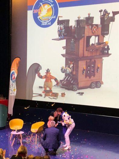 Winnaar verkiezingspeelgoed van het jaar playmobil