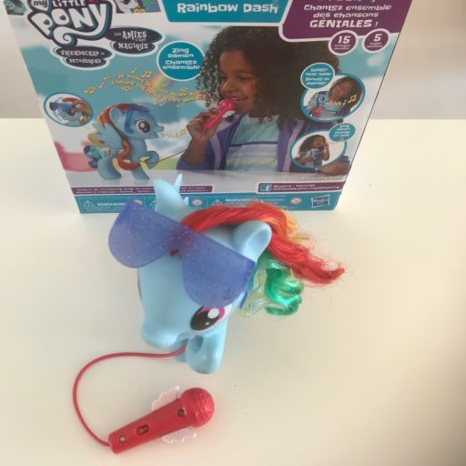 Rainbow dash zingende my little pony