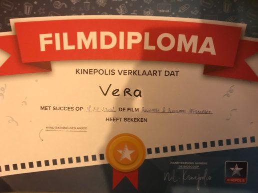 Filmdiploma kleuterbios kinepolis