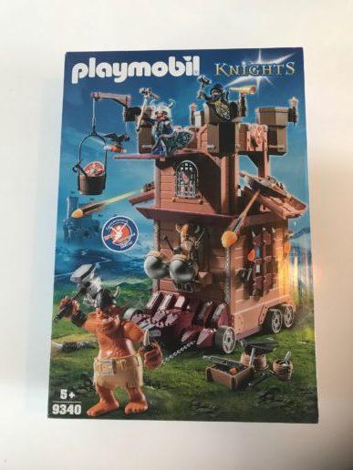 playmobil aanvalstoren van de dwergen