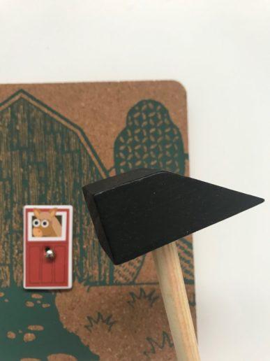Hammer Farm totum met hamer en kurkbord