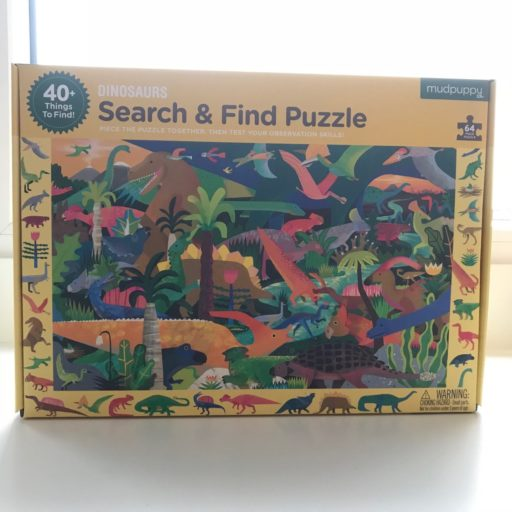 Dinosaurus puzzel zoek en vind