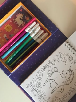 Magic colouring set eenhoorn
