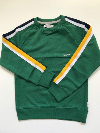 Move. kidswear jongenskleding sweater groen
