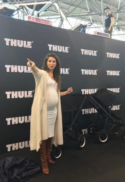 Thule presentatie thule sleek black on black Xelly Cabou van Kasbergen