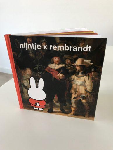 Nijntje x Rembrandt kinderboek