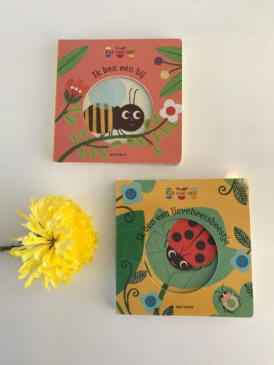 Kijk mij kinderboekenserie natuur Bij en Lieveheersbeestje