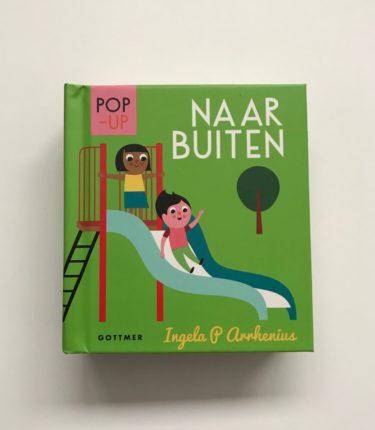 Kinderkamerkunst Naar Buiten pop-upboekje