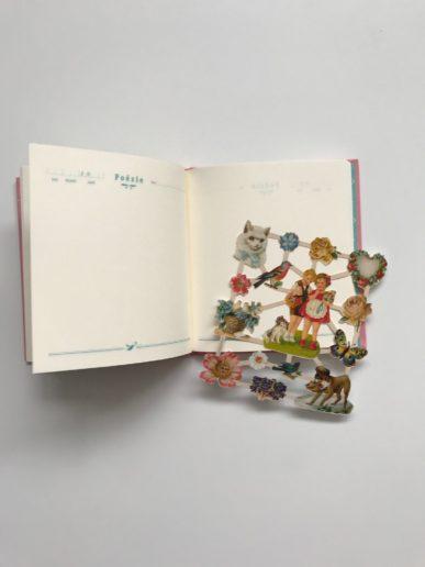 Poeziealbum elma van vliet met poezieplaatjes