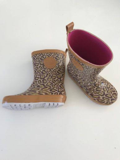 Shoesme regenlaars panterprintje