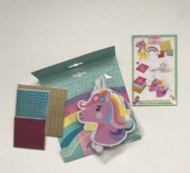Totum unicorn pixel paint knutselwerk