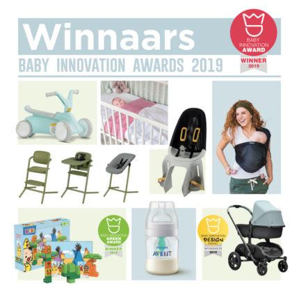 winnaars Baby Innovation Award 2019 Negenmaandenbeurs