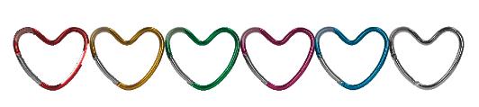 dooky heart hook kleurenpallet