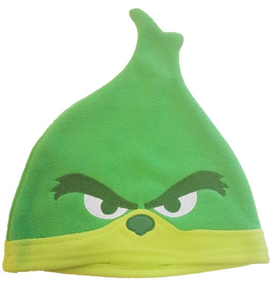 De Grinch op dvd met muts