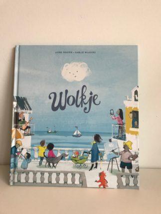 Kinderboek over het weer: Wolkje