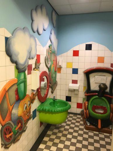 Kinderwc in het Spoorwegmuseum Utrecht