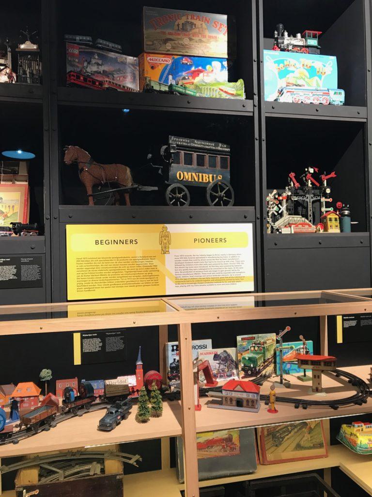 Modeltreinen in het spoorwegmuseum Utrecht