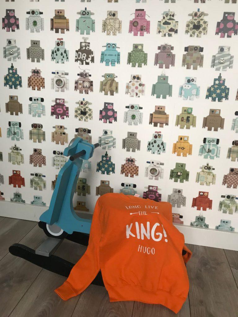 Bulbby Koningsdag trui jongens