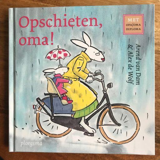 Opschieten oma, kinderboek