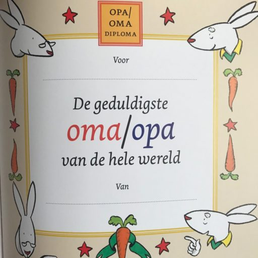 oma diploma Opschieten oma, kinderboek