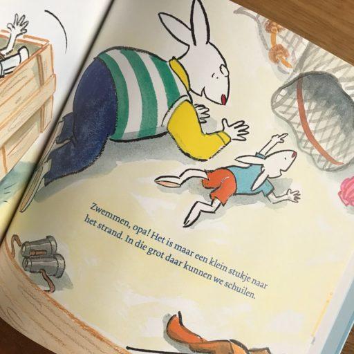Met opa op avontuur, kinderboek