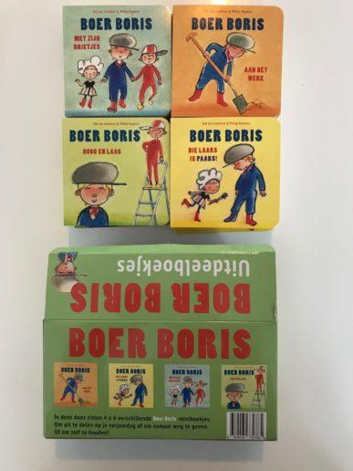 traktatie uitdeelboekjes Boer Boris