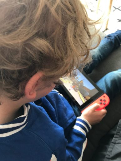 Nintendo Switch Lego movie