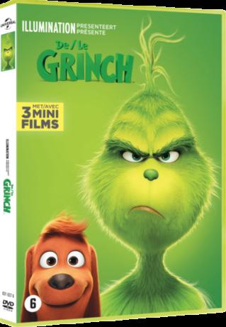 De Grinch op dvd