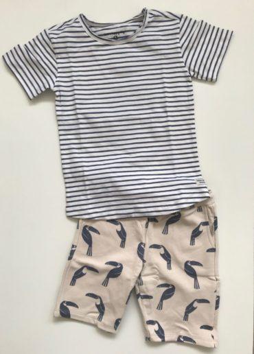 voorjaarscollectie Little Label jongens outfit