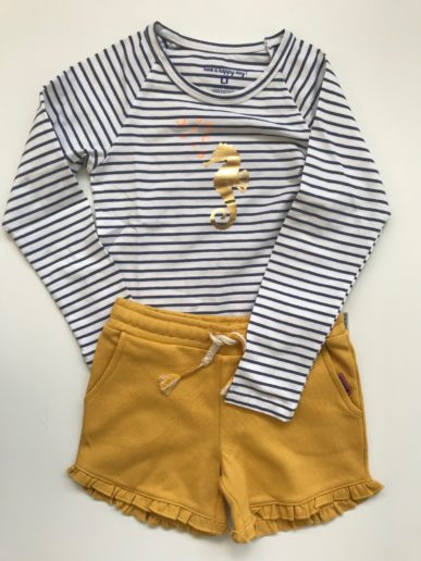 voorjaarscollectie Little Label meisjes outfit
