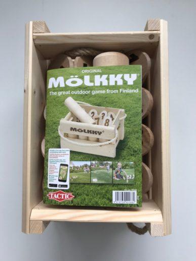 Mollky houtenspeelgoed voor buiten