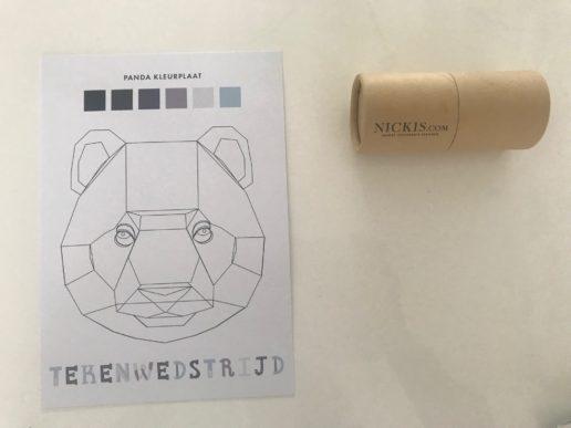 Kleurwedstrijd en ontwerpwedstrijd NICKIS.com