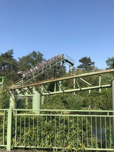 Avonturenpark Hellendoorn dino achtbaan