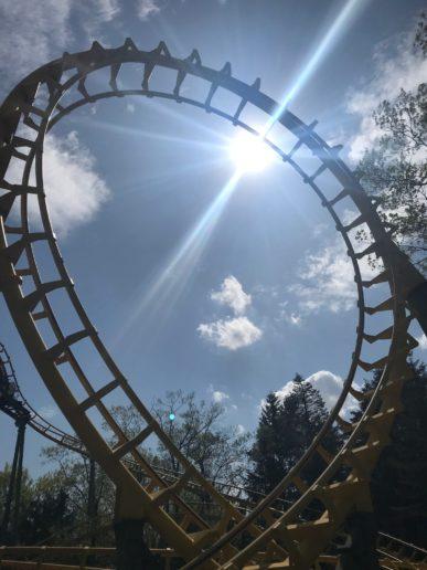 Avonturenpark Hellendoorn achtbaan