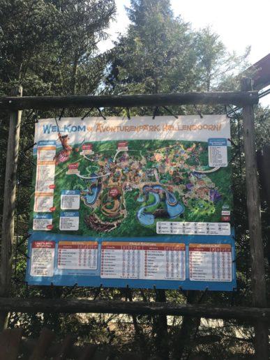 Avonturenpark Hellendoorn plattegrond