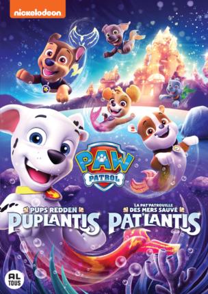 Paw Patrol op dvd Puplantis