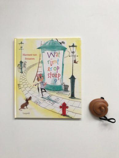 WAt rijmt er op stoep...kinderboek