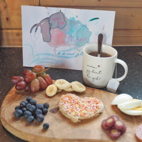 Moederdag gasbtlog Kim ontbijt op bed