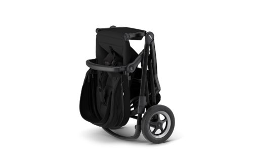 Thule kinderwagen black on black