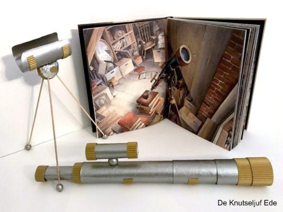 de knutseljuf ede telescoop knutselen