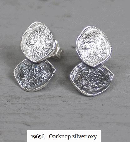 zilveren oorknopjes jeh jewels