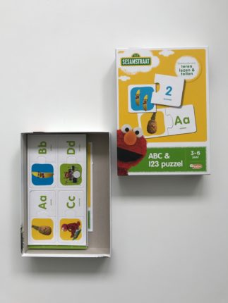 Sesamstraat abc en 123 spel