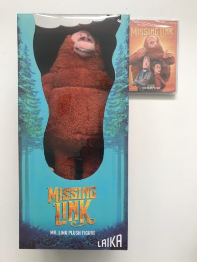 Missing Link en MR link knuffel