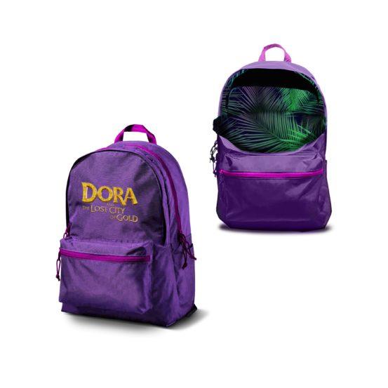 Dora paarse rugzak