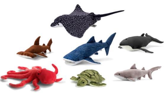 'Free the Sea' met de WWF knuffelcollectie