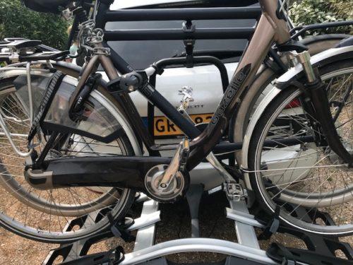 Thule velocompact fietsendrager voor 3 fietsen