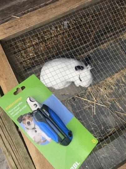 konijnen en kinderen nagelschaar