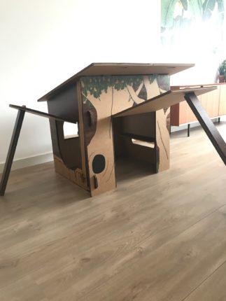Boomhut van Van Hut Naar Her duurzaam speelgoed